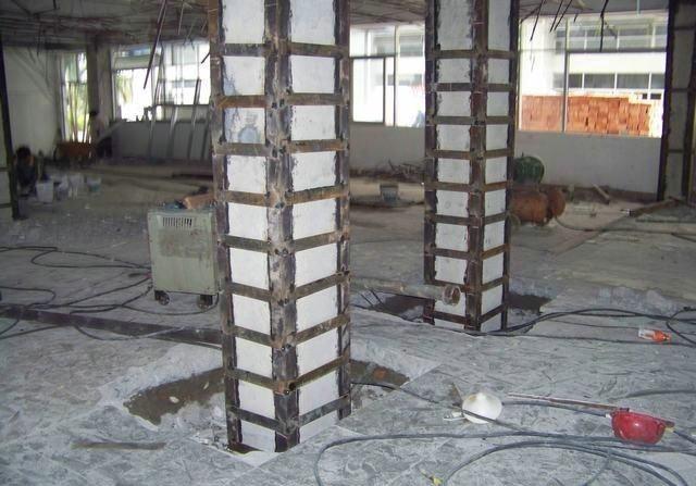 西安加固公司:外包钢加固法